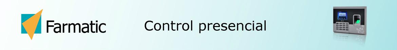 control presencial Farmatic